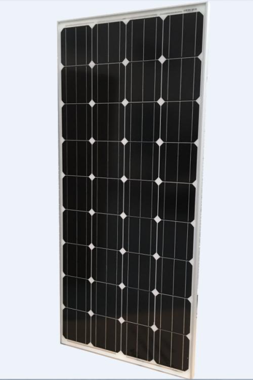 Солнечная батарея Delta SM 150-12M 150 Ватт 12В Моно Пиковая мощность: 150 Вт , Номинальное напряжение: 12 В , Технология: Монокристалл, Температура эксплуатации и хранения: -40+85 °С, Вес: 11.6 кг, Размер: 1485 мм (длина), 668 мм (ширина), 35 мм (толщина рамки).