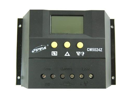 Контроллер JUTA CM60 60A 12V/24V Номинальное напряжение -  12V/24 Вольт Максимальный ток на входе - 60 А Мощность подключаемых солнечных батарей - 720 ватт (12В), 1440 ватт (24В)