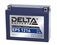 Аккумулятор для мототехники DELTA EPS 1216 (YTX16AL-A2)