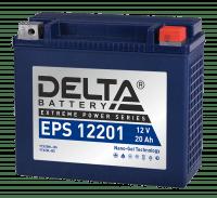 Аккумулятор для мототехники DELTA EPS 12201 (YTX20HL-BS, YTX20L-BS)