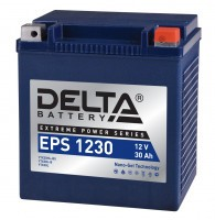 Аккумулятор для мототехники DELTA EPS 1230 (YTX30HL-BS, YTX30L-B, YTX30L)