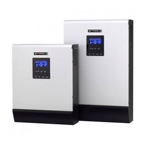 Инвертор с ЗУ и ШИМ-контроллером Stark Country 3000 INV Мощность: 3000ВА/2400Вт,  Макс. зарядный ток: 20А,  Выходной сигнал: чистый синус,  Контроллер: ШИМ