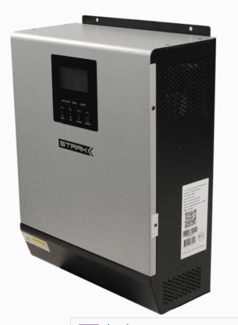 Инвертор с ЗУ и MPPT-контроллером Stark Country 2000 INV-MPPT Мощность: 2000ВА/1600Вт,  Макс. зарядный ток: 20 А,  Выходной сигнал: чистый синус,  Контроллер: MPPT
